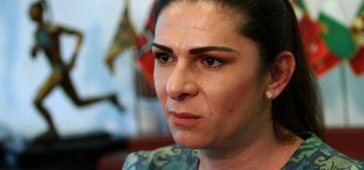 """Ana Guevara llama """"berrinchudos"""" a quienes se quejan de becas"""