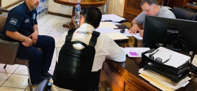 Auditan SSP y Sedena armamento a Policía de Empalme
