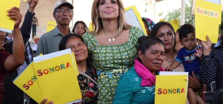 """Pone en marcha Gobernadora programa """"Identidad Sonora"""""""