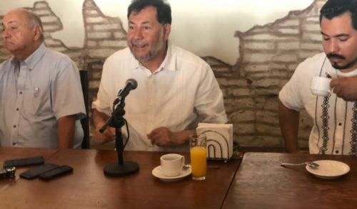 No descarto fuego amigo contra Ana Guevara: Noroña