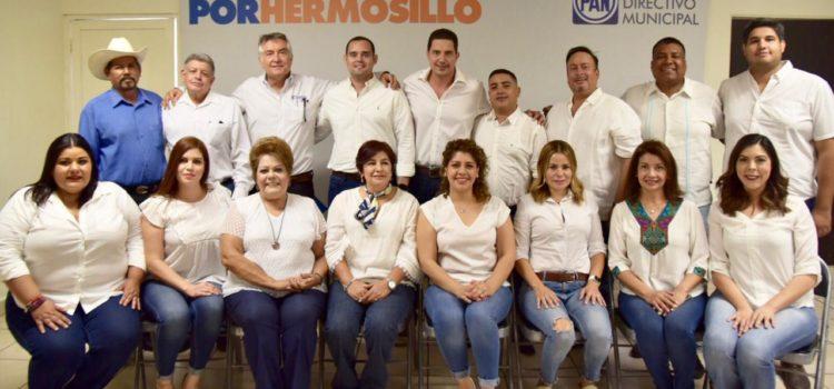 Se registra Luis El Güero Nieves como aspirante a dirigir el Comité de Acción Nacional en Hermosillo