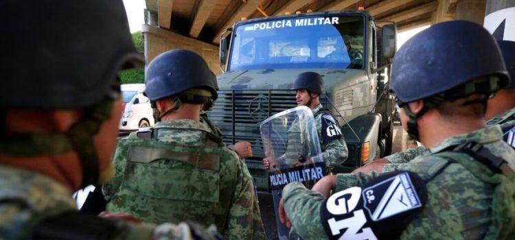 Guardia Nacional y Policía Federal detienen a 8 miembros de presunta red de trata de personas