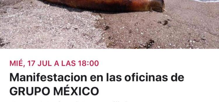Se manifestarán frente a Grupo México por contaminación ambiental en Sonora