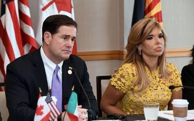 Gobernadores de Sonora y Arizona impulsan desarrollo económico con sentido humanista