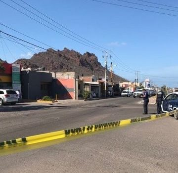 Matan a elemento de la Policía Municipal en Guaymas