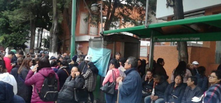 Sismo magnitud 2.5 sacude Álvaro Obregón