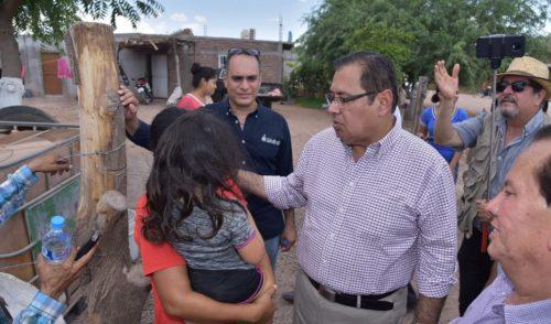 Mejora alcalde Sergio Mariscal calidad de vida a los habitantes de Pueblo Yaqui