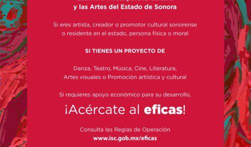 Respaldará EFICAS 12 proyectos culturales