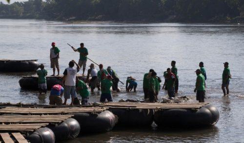 FGE de Chiapas rescata a 13 migrantes indios
