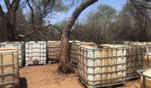 Asegura Policía Federal 46 mil litros de huachicol en La Colorada