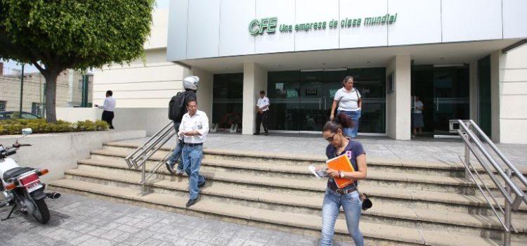 La CFE reconoce errores por 140 millones de pesos en recibos de luz