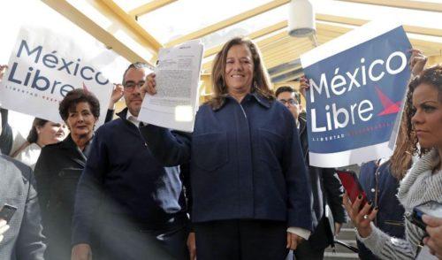 México Libre será un partido para 2021: Margarita Zavala