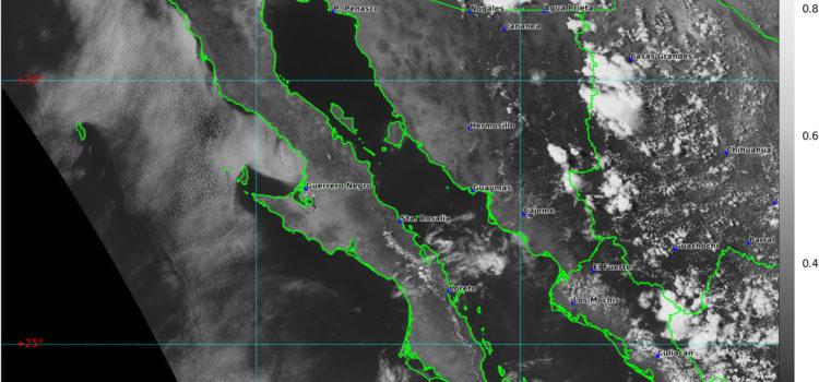 Se mantiene pronóstico de lluvias para Sonora