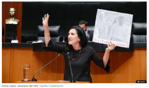 AMLO tendría 50 años de cárcel por toma de pozos en Tabasco con 'ley garrote': senadora del PAN