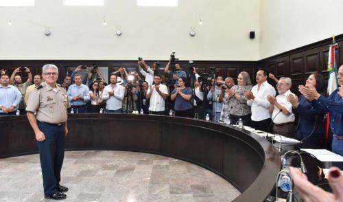 El General Gilberto Landeros es nombrado nuevo comisario de la Policía Municipal de Hermosillo