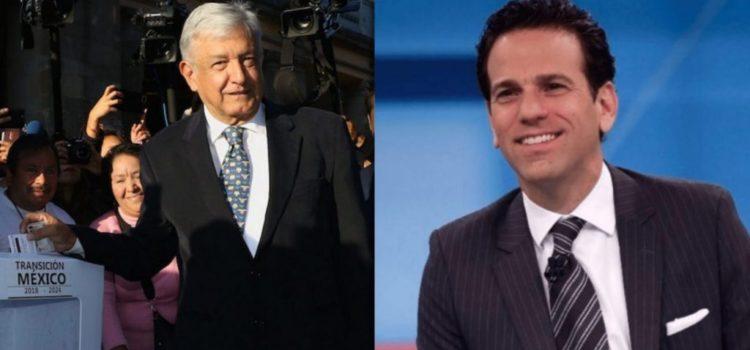 Sugiere oposición que AMLO esta tras la salida de Loret de Mola de Televisa