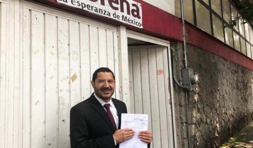 Batres presenta queja por elección para el Senado ante Comisión de Morena