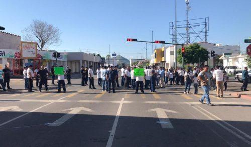 Policías de Hermosillo exigen renuncia del Comisario General